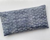 Blue Waves Lavender Filled Eye Pillow