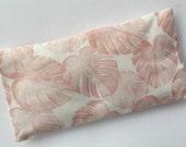 Pink Palm Print Lavender Filled Eye Pillow