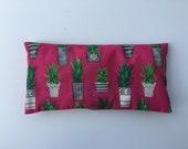 Cactus Print Lavender Filled Eye Pillow