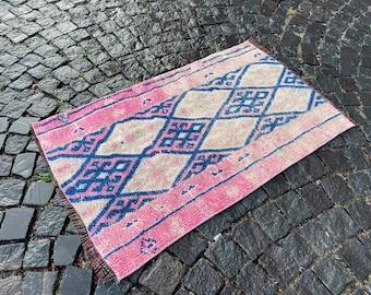 Handmade rug, Wool rug, Area Rug, Turkish rug, Home decor, Vintage rug,  Carpet, Kilim   75 x 125 cm = 2,4 x 4,1 ft