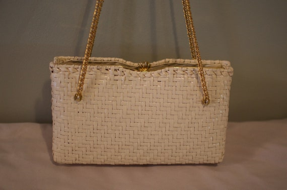 Dorian Continental Wicker Evening Bag