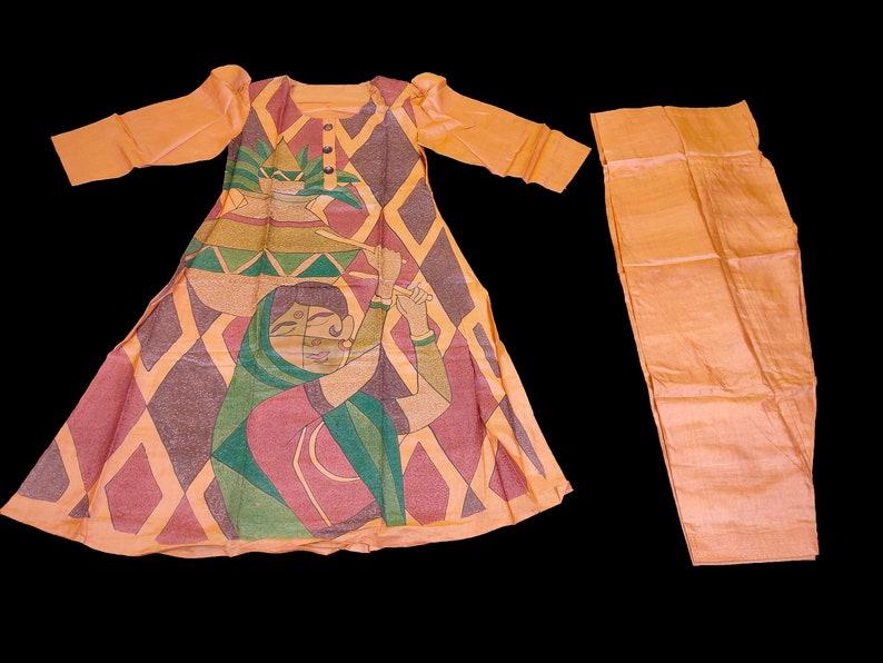 vintage royal zari 2 piece embroidered zardozi Salma work dress with trouser /& scarf afghani dress Baluchi dress boho gypsy banjara dress