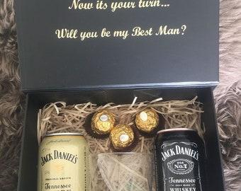Groomsmen Proposal Box Etsy