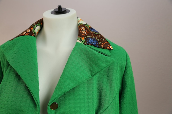 Vintage 70s Double Collar Knit Shirt