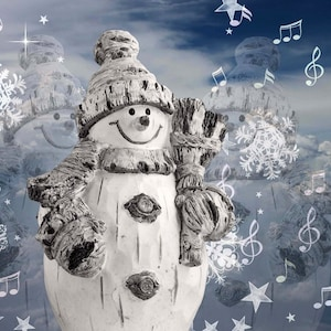 Christmas Snowman Snowman Jigsaw Puzzle Snow woman Frosty the Snowman puzzle 100/% Handcrafted Wooden Jigsaw Puzzle by Mark Cappitella