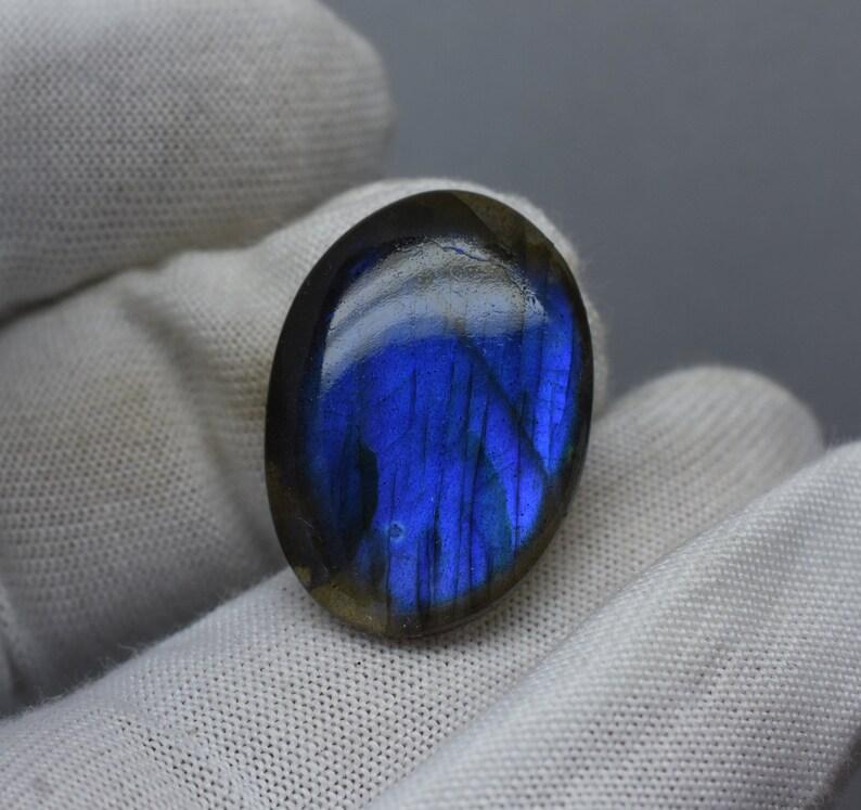 Natural Labradorite Gemstone-Blue Labradorite Oval Cabochon 22.05Cts,Loose Gemstone,Labradorite Cabochon,Labradorite Gemstone,Pendant Making