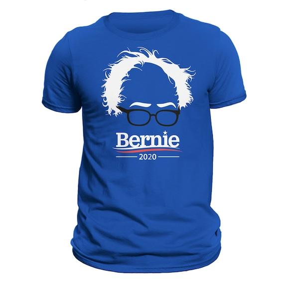 Feel The Hair And Glasses Bern 2020 Bernie Sanders T-Shirt