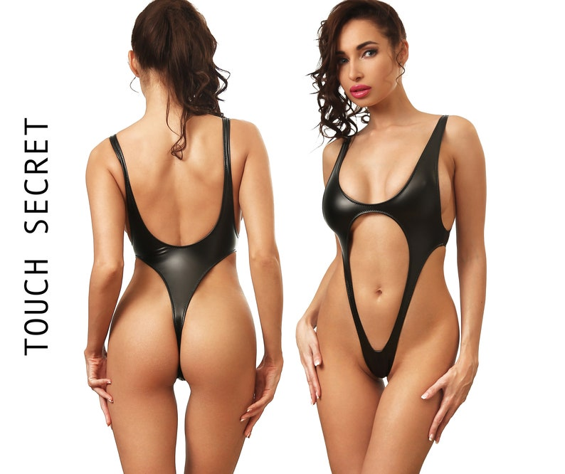 Popular Brand High Leg Cut Mesh One Piece Swimsuit Women Sexy Zipper Swimwear Female Thong Monokini Brazilian Bathing Suit Swim Wear Bodysuit Elegant Appearance Swimming Sports & Entertainment