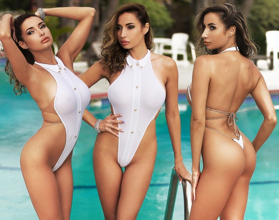 exotic one piece sexy bathing suits
