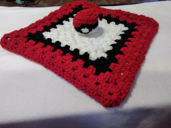 Working on this Pokeball blanket. Still have 2 more rows to go ... | 428x570