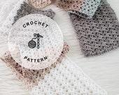CROCHET PATTERN: Breezy Summer Scarf Crochet Pattern. Long Crocheted Scarf for Women. Beachy Neckwear.