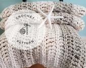 CROCHET PATTERN: Oregon Chunky Easy Afghan Crochet. Crochet Chunky Blanket Pattern.
