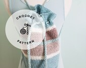 CROCHET PATTERN: Sand Bucket Crocheted Backpack. Crochet Summer Cotton Backpack.
