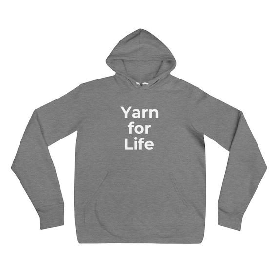 Maker Apparel. Yarn Lover Sweatshirt