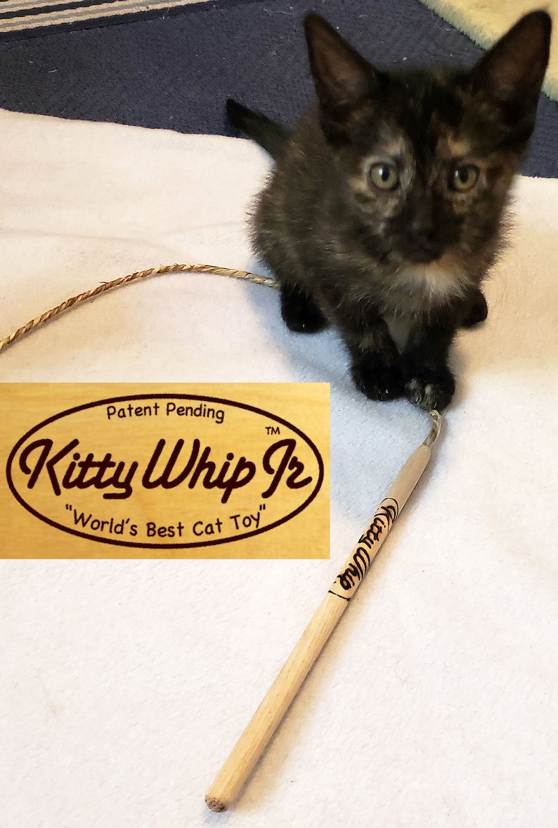 KittyWhip Jr for itty bitty kitties image 0