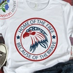 Home of the Free because of the brave SVG cutting files