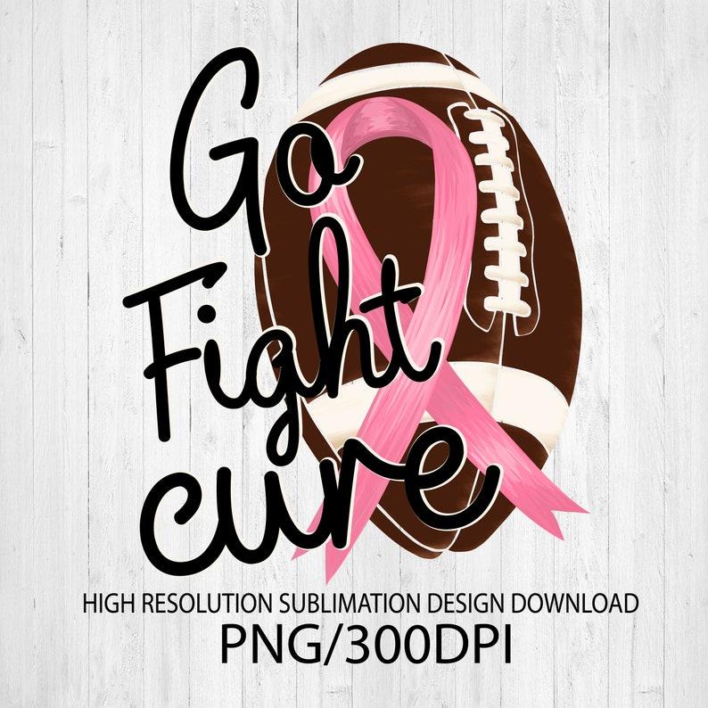 Breast Cancer Awareness sublimation design download  DTG image 0