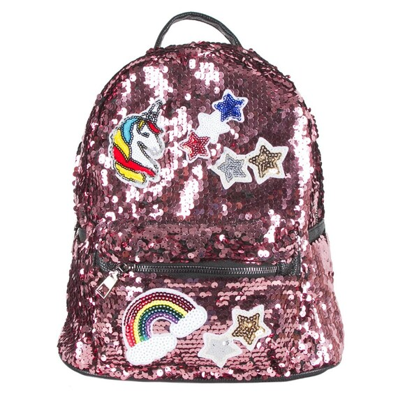 Sparkly Sequin Unicorn Bag