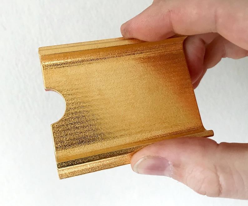 Harriet Tubman stamp Gold steel handle image 0