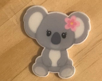 5pcs Koala Bear Planar Acrylic Flatback Cabochons Embellishment Decoden Craft