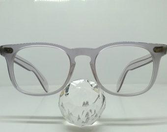 4e23b38273c9 vintage N.O.S. ANDY WARHOL cristal keyhole aristocrat eyeglasses SUNGLASSES  preppy ivy league gatsby andy warhol james dean hollywood