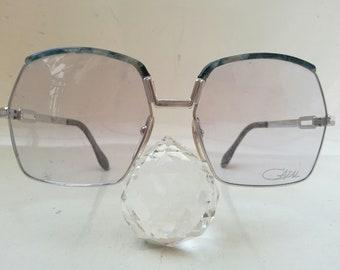 8fedbd296466 VINTAGE CAZAL eyeglasses SUNGLASSES old school N.Y.C. rapper hip hop run  D.M.C. handmade in west germany mod 204 N.O.S. 80s new old stock
