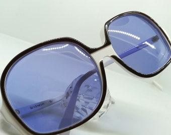 54bf664495 VINTAGE GIVENCHY diva debutante eyeglasses epic runway show sunglasses  tortoise diva jackie o hand made woodstock purple polarized lens