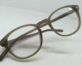 b43904cf2b VINTAGE P-3 lesca warhol flesh tone eyeglasses SUNGLASSES ivy league  aristocratic tortoise WARHOL N.O.S. harvard professor andy warhol