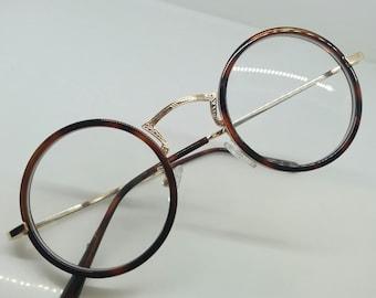 1afa6acef5d10 vintage preppy tortue IVY LEAGUE harold professeur gatsby lloyd ronde  architecte lunettes rondes ivy league Japon aristocratique