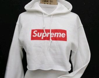 fb172e1cfc07a Supreme Crop Hoodie   Supreme   Crop Hoodie   Supreme Box Logo