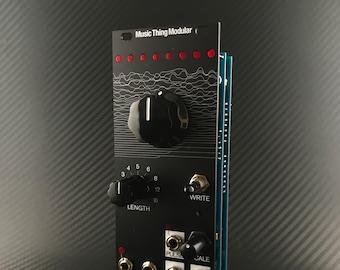 Music Thing Modular Turing Machine MkII (Black Aluminium/Various Knob Colours) 10hp Eurorack Module