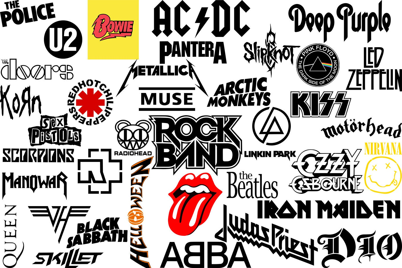 Bands Logo svgBands clip artThe Beatles svgKiss svgACDC   Etsy