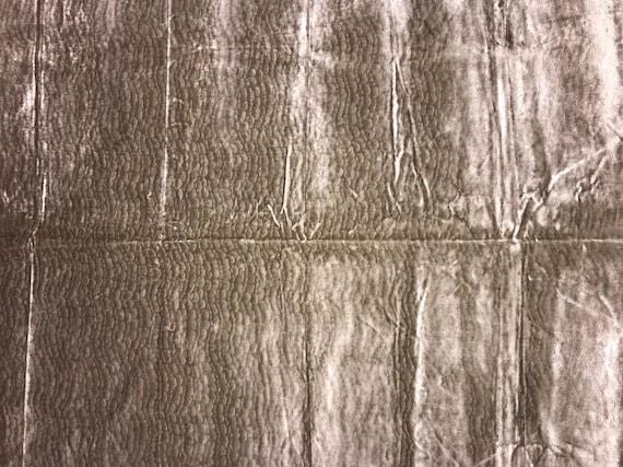 Designer Fabric italian BEVILACQUA velvet REMNANT