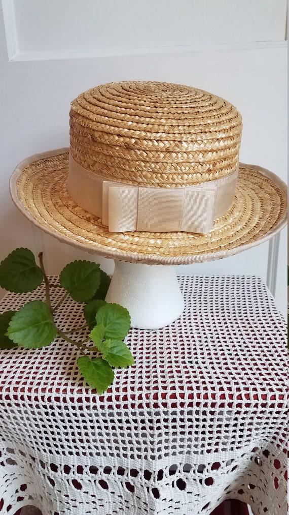 Straw Hat, Summer Hat, Stylish, Sophisticated Sum… - image 3