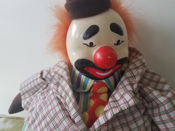 Happy Time clown altered dollcreepy dollclowngothichorrorHalloweencollectable doll