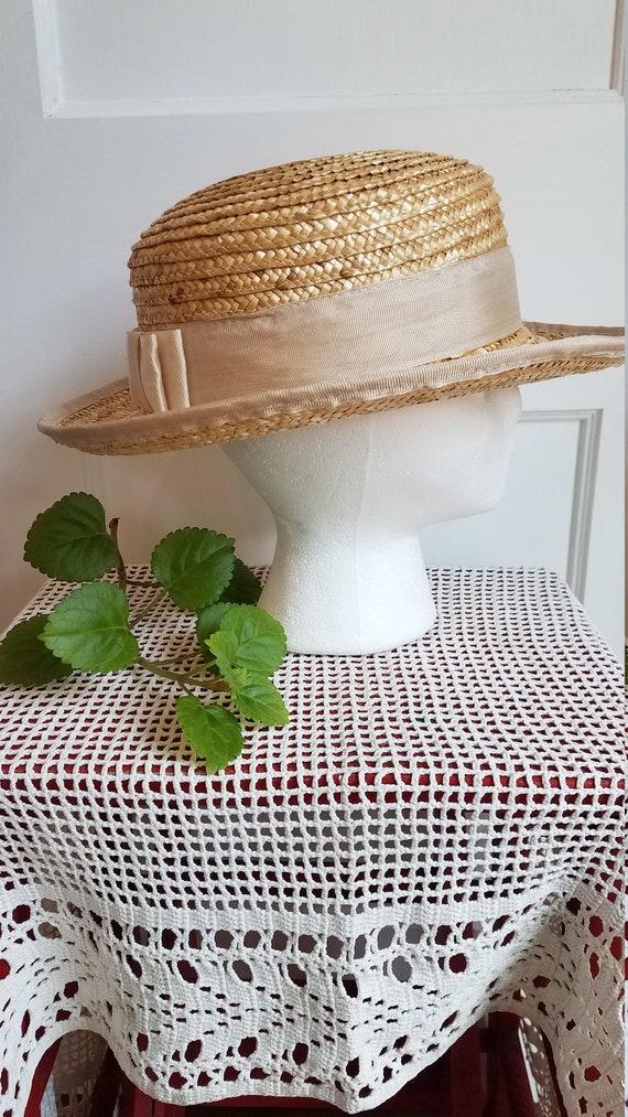 Straw Hat, Summer Hat, Stylish, Sophisticated Sum… - image 4