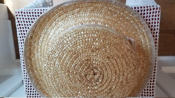 Straw Hat, Summer Hat, Stylish, Sophisticated Sum… - image 5