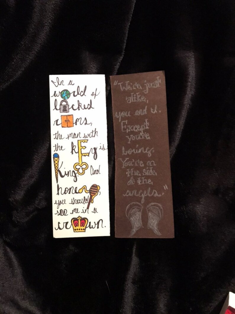 Jim Moriarty Quote Bookmarks – Set of 2