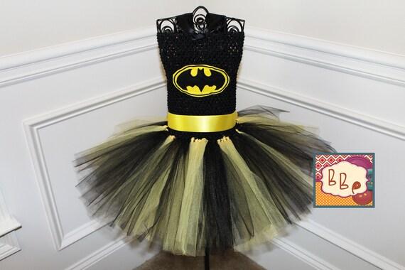 Batman Costume Batgirl Tutu Dress Hot Pink Batman Tutu Dress Batman Tutu Dress