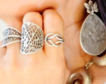 Wrap leaf ring Greek Goddess Ring 26 Roman Olive Branch ring Ivy silver Ring Boho peace Ring Plant Branch sapling leaves bohemian ring