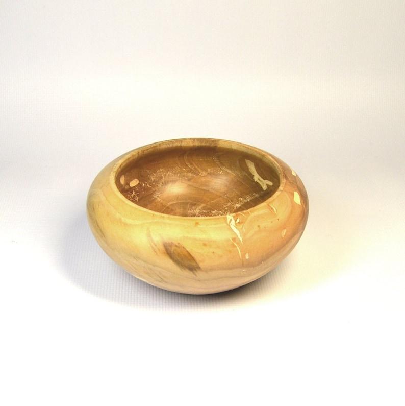 Salad Bowl Spalted Apple Tree Wood Custom Made Sugar Bowl Handmade Handturned Wood Sugar Bowl
