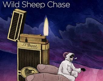Wild Sheep Chase print - 12x17