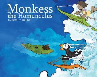 Monkess The Homunculus, children's book