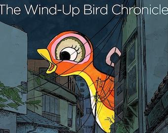 Wind-Up Bird Chronicle print - 12x17