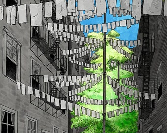 A Tree Grows In Brooklyn print - 11x14