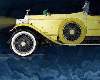 The Great Gatsby print - 11x14