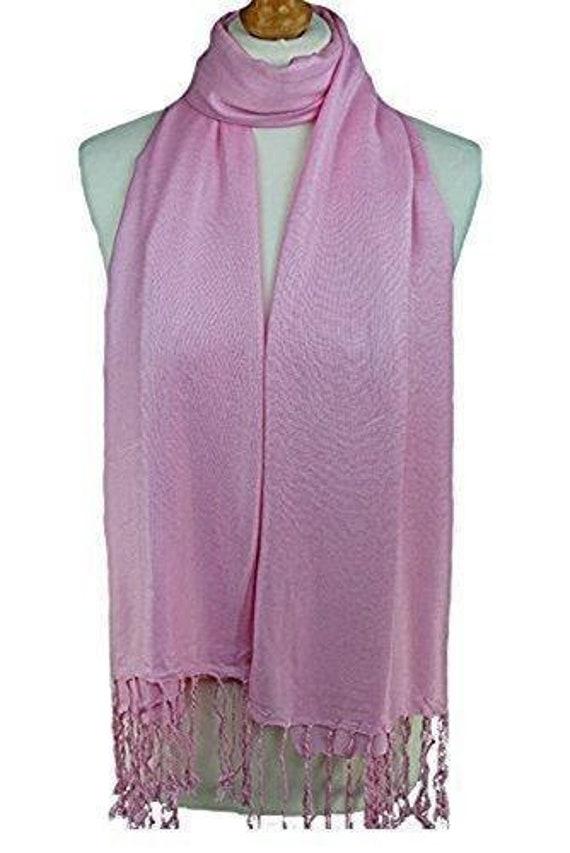 High quality plain pashmina scarf shawl stole wrap 100/% viscose PaSmna