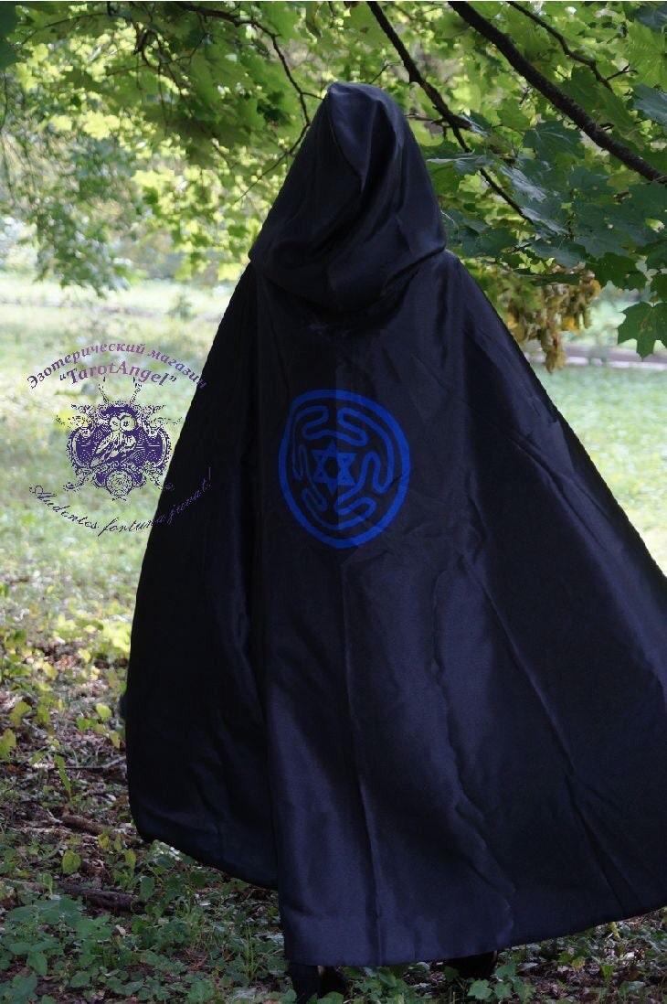 Robe noire rituel tau moine tau rituel adulte robe moine femme homme robes rituel vêtements Tarot Art sorcellerie sorcière robe manteau de sorcellerie 120120