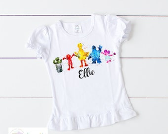 172b48eb07b Sesame Street Character Shirt