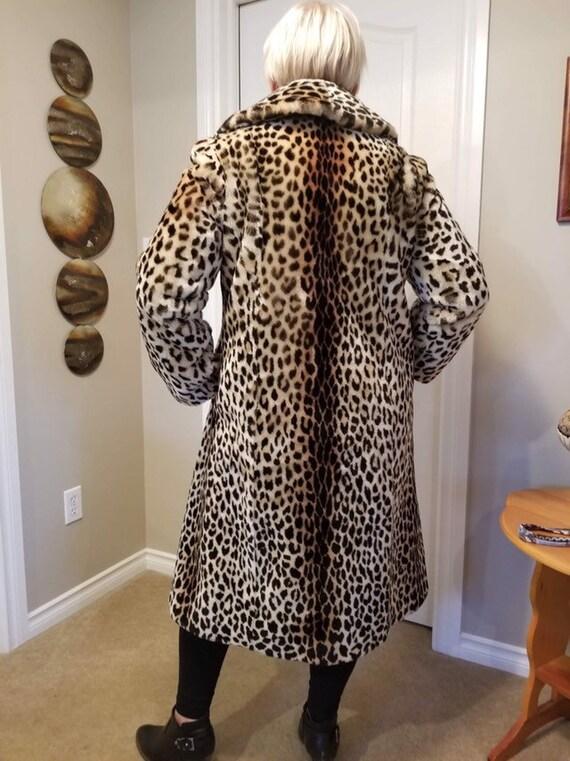 Luxury Leopard Faux For Coat